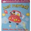 "Riesenschild ""Just Married"" ca. 50 cm"