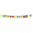 "Girlande ""Happy Birthday"" ca. 120cm"