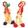 Clown stehend, 2er set, ca. 30,5cm