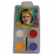 "Motiv-Set "" Clown "" 4 Farben Mix"