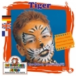 Motiv-Set -Tiger-  4 Farben Mix
