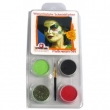 Motiv-Set  Halloween 4 Farben Mix