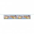 Banner Beer Party ca. 29x175cm