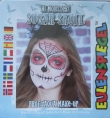 Motiv-Set Halloween, Sugar Skull, 4 Farben Mix