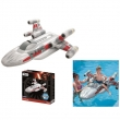 Aufblasbarer Star Wars X-Fighter, ca. 1,5x1,4m