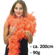 Federboa, 200 cm, 90g, orange